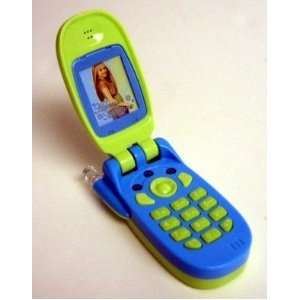 Hannah Montana Flip Phone Cell Phone   Green Toys & Games