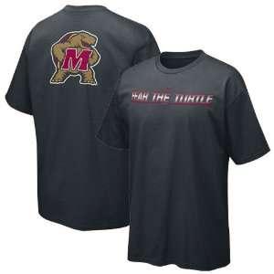 Nike Maryland Terrapins Black School Pride T shirt Sports