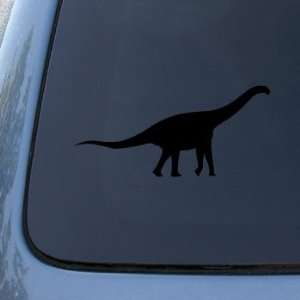BRONTOSAURUS   DINOSAUR   Vinyl Car Decal Sticker #1689  Vinyl Color