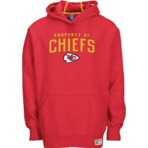 Kansas City Chiefs Red Youth Property Of Hooded Sweatshirt