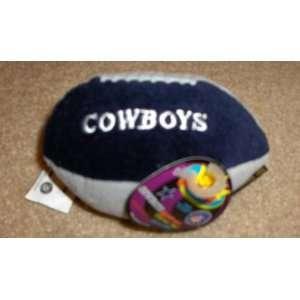 Dallas Cowboys NFL Football Silly Slammer Beanbag Toy