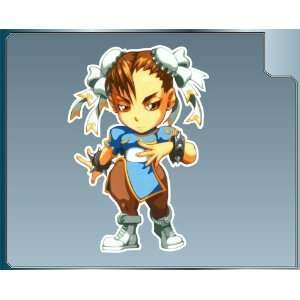 Street Fighter Chun li Vinyl Decal