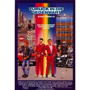 Star Trek 4 The Voyage Home (1986) 27 x 40 Movie Poster German Style
