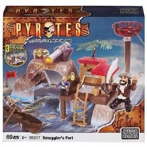 Mega Bloks Pyrates Island Playset   Smugglers Fort (95517)  Toys