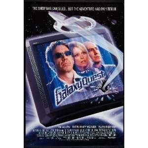 Galaxy Quest Movie Poster 2ftx3ft