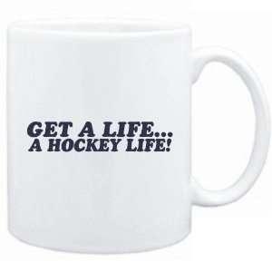 New  Get A Life , A Hockey Life  Mug Sports