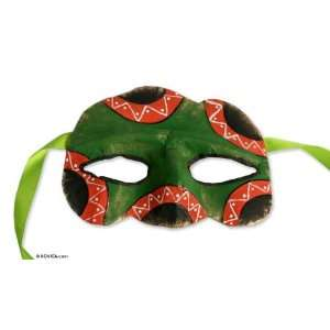 Papier mache mask, Guarani Art Home & Kitchen