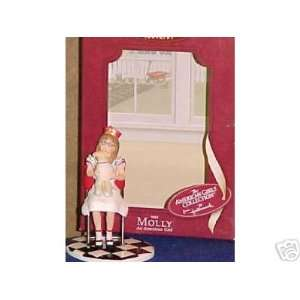 American Girl  Molly AUTOGRAPHED by artist 2003 hallmark