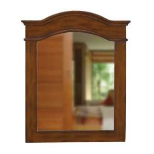 Large wood frame mirror in mirrors for Cherry wood framed bathroom mirrors