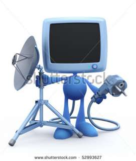 Tripod Stand With Satellite Dish Stock Photo 52993627 : Shutterstock