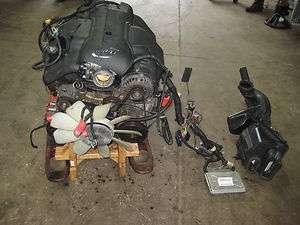 LITER VORTEC ENGINE MOTOR CADILLAC ESCALADE LQ9 138K