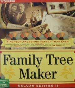 Family Tree Maker Deluxe II