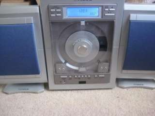 Fisher Slim 1400BL Micro Portable CD Player Stereo System AM/FM Tuner