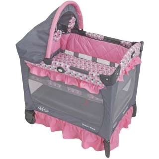 Graco   Travel Lite Portable Mini Playard with Baby Bassinet, Ally