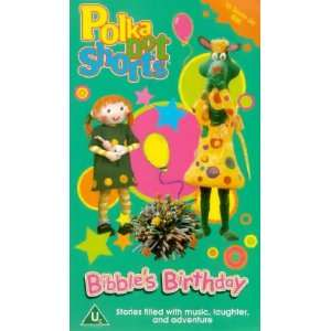 Polka Dot Shorts   Bibbles Birthday [VHS] Andrew Sabiston, Michael