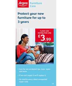 Buy Up to 3yrs Furniture Care Sofa £400 £499.99 at Argos.co.uk