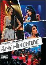 Winehouse I Told You I Was Trouble starring Amy Winehouse DVD Cover