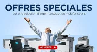 Des imprimantes performantes. Des consommables de hautes capacités