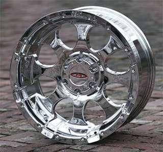 16 inch Chrome Wheels rims MOTO METAL 955 Chevy Gmc 1500 trucks 6 lug