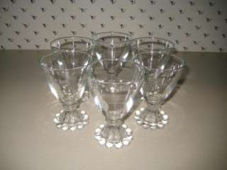 Anchor Hocking Berwick Boopie Cordial Glasses