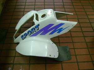 POLARIS SPORT 400 FRONT FENDER PLASTIC BODY ATV QUAD