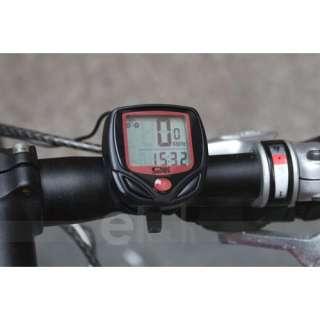 New LCD Bicycle Bike Computer Odometer Speedometer 258