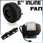 Inline Duct Fan Blower Fan Hydroponic Exhaust Ventilation Fan IFan6