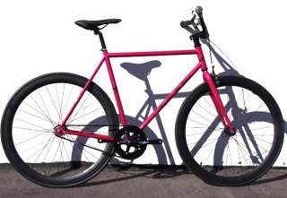 Fixed Gear Bike Fixie Bike Road Bicycle W/BMX handlbar SZ 48 52 56 cm