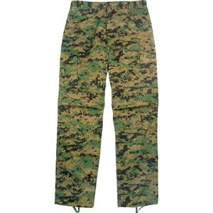 Digital Woodland Camouflage   Military BDU Pants (Cotton/Polyester)