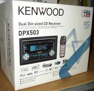 KENWOOD CD RECEIVER DOUBLE DIN DPX 503 DPX503 B |