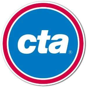 CTA Chicago Transit Authority Bus Train Service Logo