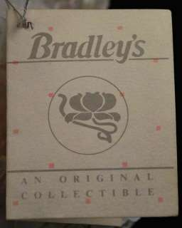 Vintage Bradleys Collectible Doll Bridget PTD78