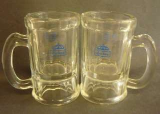 Vintage CORONA BEER MUGS GLASS MEXICO CERVEZA mug