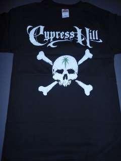 CYPRESS HILL Skull & Crossbones Pot T Shirt **NEW tour concert band
