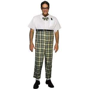 Halloween Dress Up Mens Adult Nerd Costume One Size