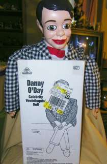 Nelsons Danny ODay Goldberger Ventriloquist Doll Dummy Original Box