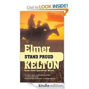 Stand Proud Elmer Kelton  Kindle Store