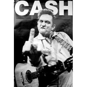 Johnny Cash   Hammersmith Finger 40x60 XL Poster
