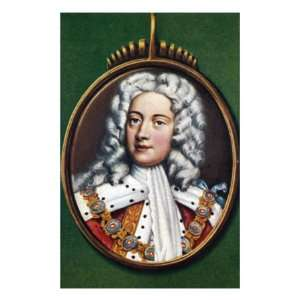 George II, Portrait of the King of Great Britain and Ireland Giclee