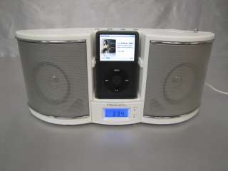 EMERSON RESEARCH IP100 AM/FM STEREO RADIO & IPOD DOCKING STATION