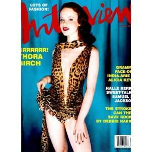March 2002   Thora Birch cover, Halle Berry: Ingrid Sischy: Books
