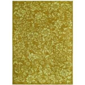 Shaw Tommy Bahama Home Nylon Island Flower Gold 35700 3 6 X 5 Area