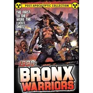 1990 Bronx Warriors Fred Williamson, Vic Morrow Movies & TV