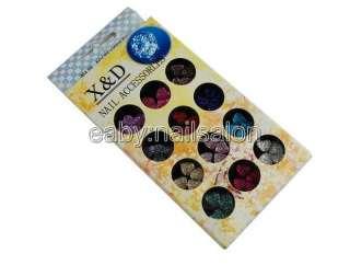 NEW High quality Nail Art accessories shiny glitter #396 7