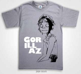 GORILLAZ T SHIRTS, THE FALL LOGO CARTOON 24 Colours NEW |