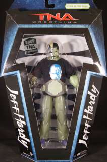 GLOW IN THE DARK JEFF HARDY   INTERNET EXCLUSIVE TNA JAKKS TOY ACTION