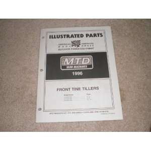 Illustrated Parts MTD Front Tine Tillers: MTD products: Books