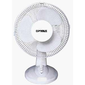 Optimus 10 Stylish Personal Fan Heating, Cooling, & Air Quality