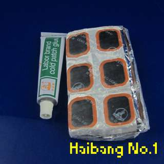 New Bicycle Bike Tire Tube 48 Rubber Patches Repair Kit
