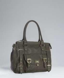 Steve Madden olive faux leather Bestelle satchel
